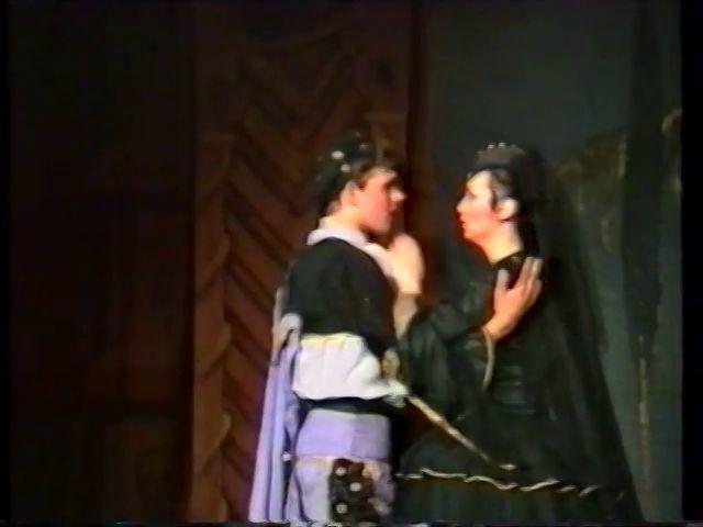«Двенадцатая ночь» по пьесе У.Шекспира - выпуск СГбГАТИ, 6 мая 1990 г (видео, скрины) 51b61