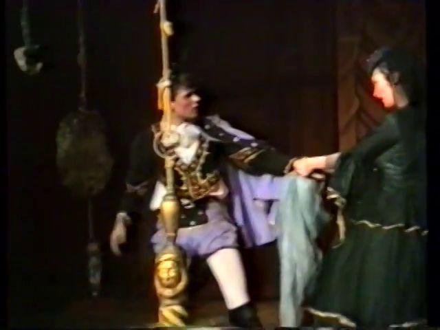 «Двенадцатая ночь» по пьесе У.Шекспира - выпуск СГбГАТИ, 6 мая 1990 г (видео, скрины) 57033