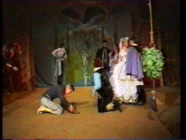 «Двенадцатая ночь» по пьесе У.Шекспира - выпуск СГбГАТИ, 6 мая 1990 г (видео, скрины) 6332d