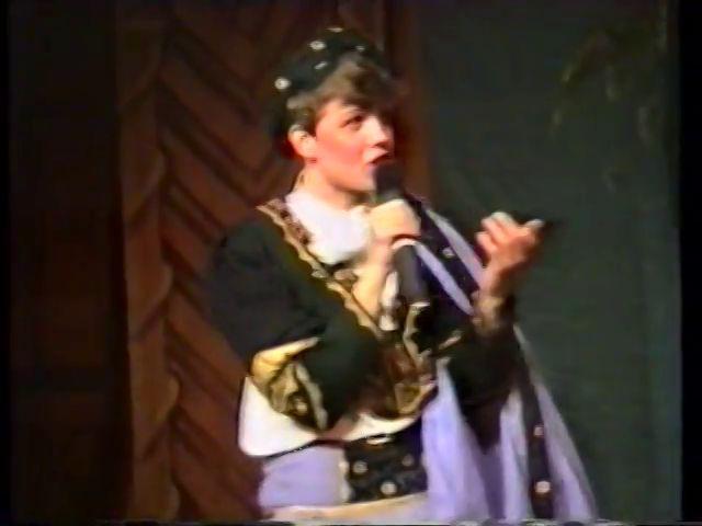 «Двенадцатая ночь» по пьесе У.Шекспира - выпуск СГбГАТИ, 6 мая 1990 г (видео, скрины) 6381a