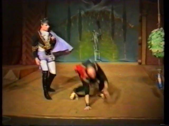 «Двенадцатая ночь» по пьесе У.Шекспира - выпуск СГбГАТИ, 6 мая 1990 г (видео, скрины) A53e3