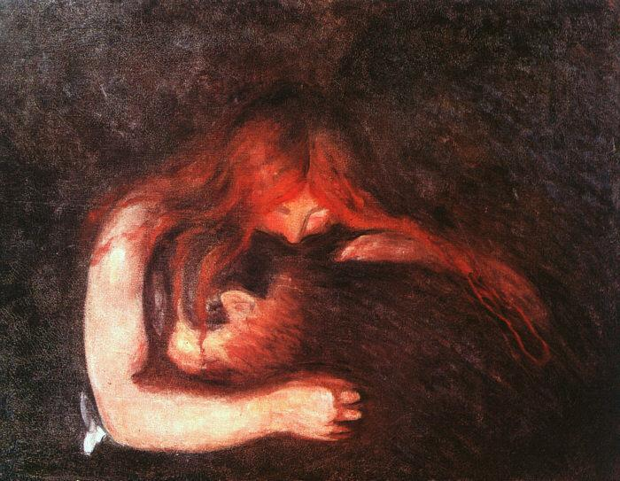 Edvard Munch / Edvard Munk  Munchvampire