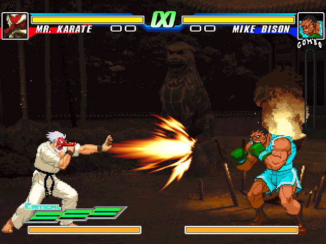 [IKEMEN]Rumble Fish 2 Style Mr. Karate  By Kamekaze (21.05.20) MRK1