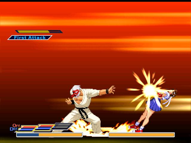 [IKEMEN]Rumble Fish 2 Style Mr. Karate  By Kamekaze (21.05.20) MRK4
