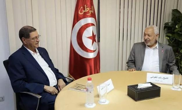 Nouveau gouvernement Essid : Ghannouchi pousse ses pions Habib-Essid-chez-Rached-Ghannouchi