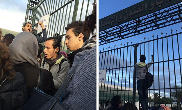 Université : Les étudiants face à la dictature de l'Uget Faculte-des-Lettres