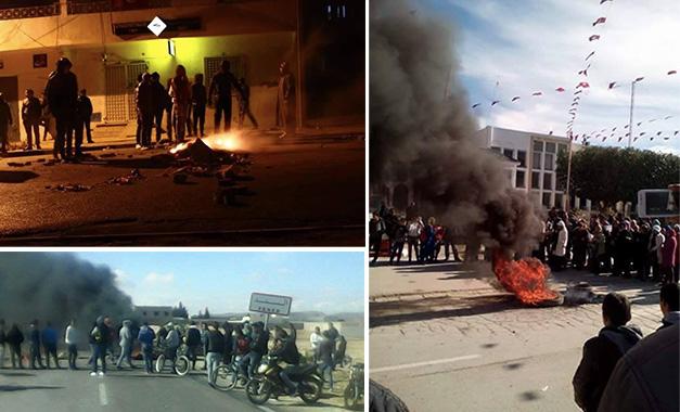 Le paradoxe de la crise tunisienne Manifestations-Janvier-2016