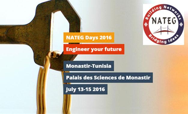 Les 6e Nateg Days à Monastir : Ingénierie et développement technologique Nateg-Days-2016