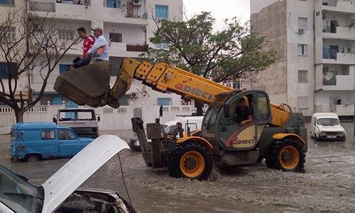 Monastir : Inondations et trafic routier paralysé Inondatons