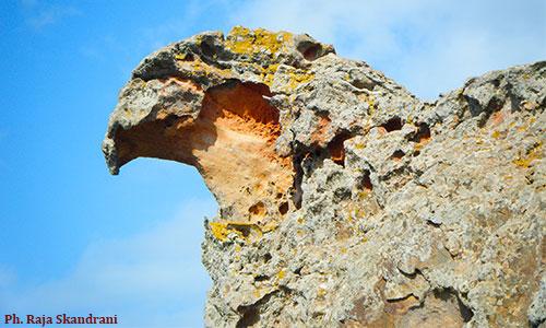 Cap Bon : Un piton rocheux appelé Bec de l'Aigle Bec-Aigle-Korbous-3