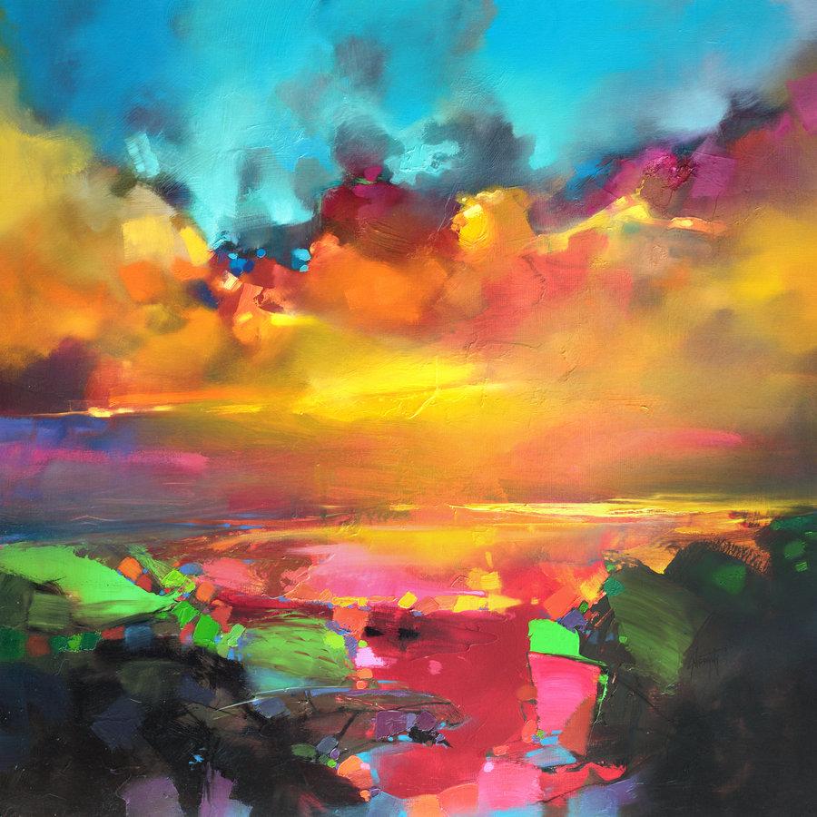 Цветотерапия в живописи... Scott-Naismith-14