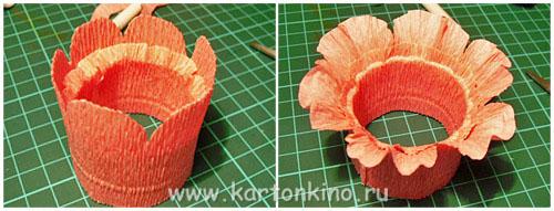 Упаковки и подставки Пасхальные Egg-flower-13