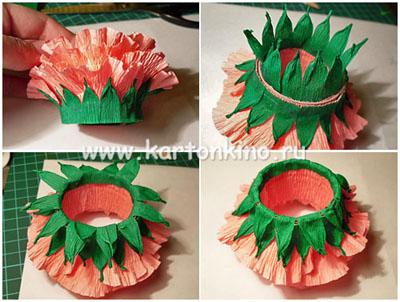 Упаковки и подставки Пасхальные Egg-flower-19
