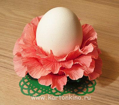 Упаковки и подставки Пасхальные Egg-flower-20