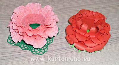 Упаковки и подставки Пасхальные Egg-flower-23