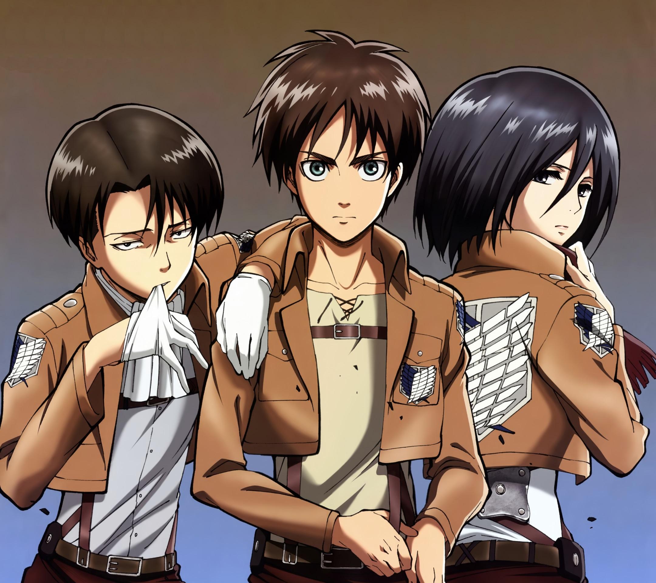 Le garçon le plus classe de tout les mangas  - Page 2 Shingeki-no-Kyojin.Eren-Jaeger.Mikasa-Ackerman-Android-wallpaper.Levi-Rivaille.2160x1920