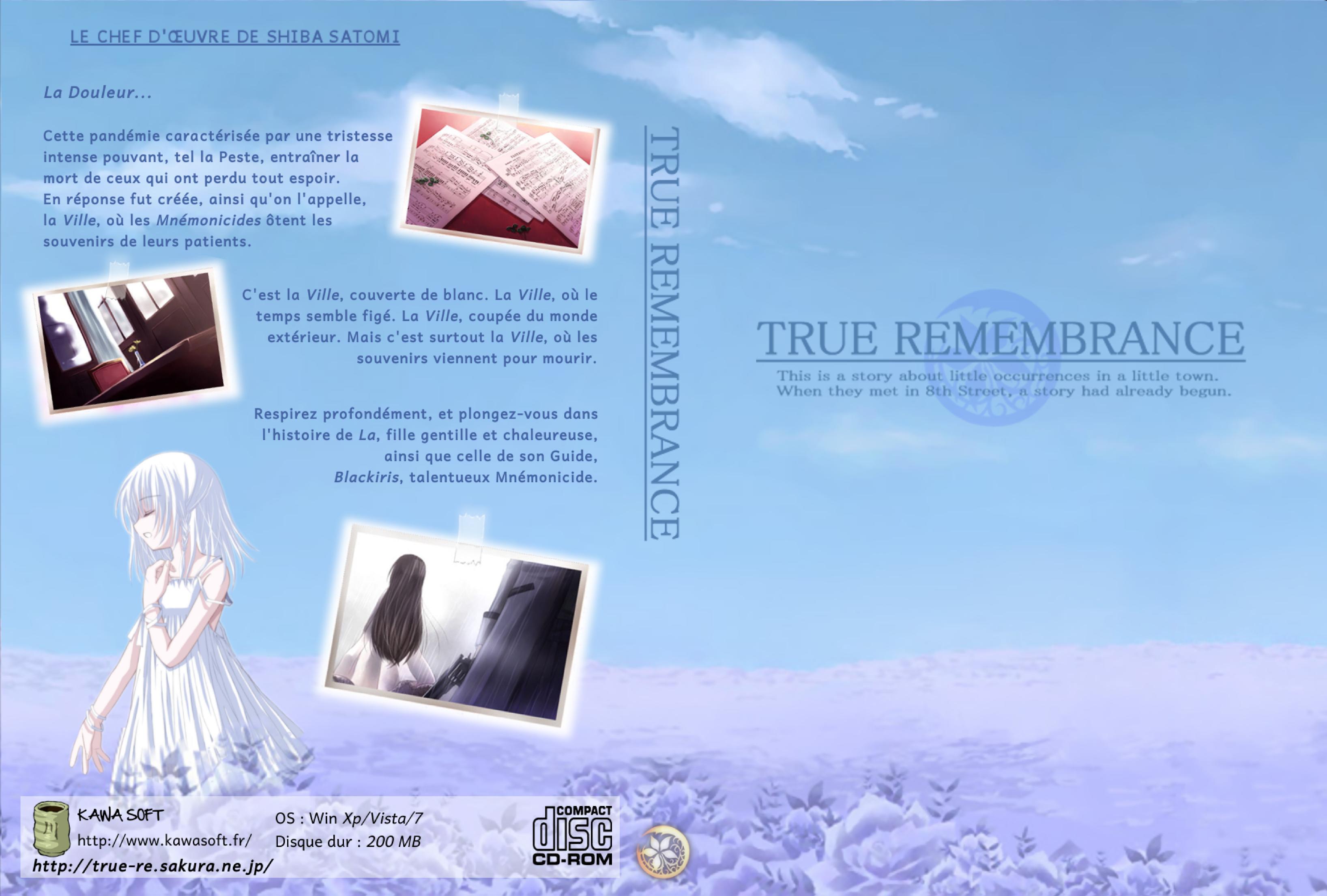 [Visual Novel] True Remembrance  Jaquette_TR_1