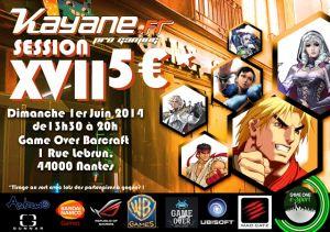 Kayane : le pro gaming au féminin Flyer_Kayane_orange4-300x211