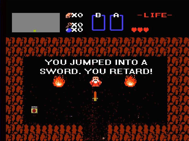 I wanna be the Guy [PC Game - Unfair Platformer] Sword