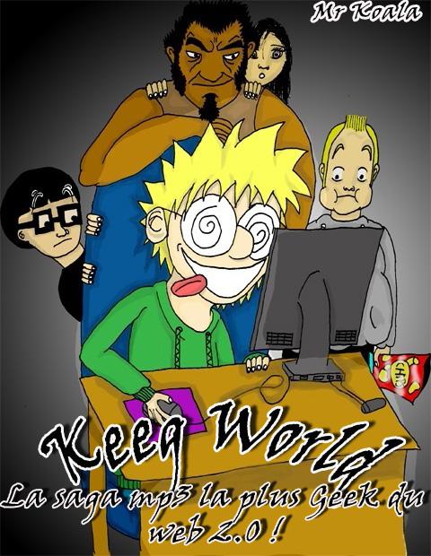 Keeg World Coverkeegworld