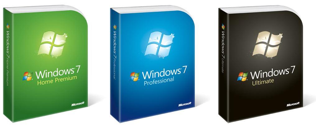 اصدارات وندوز 7 رسميا windows 7 Microsoft-windows-7-box1