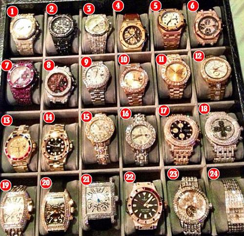 Tận mắt chứng kiến chiếc đồng hồ hơn 24 tỷ của Mayweather May1-1450236501610