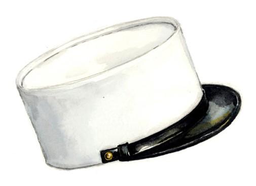 « Le képi blanc de la Légion Etrangère », une anecdote Kepi_56