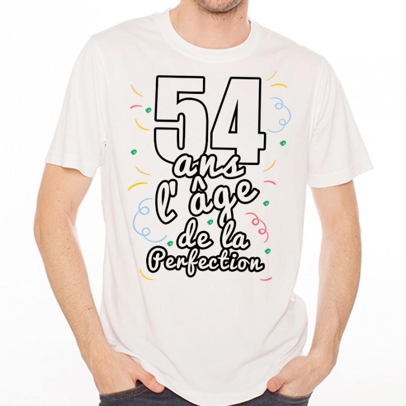 Anniversaire(s) du jour le post - Page 33 T-shirt-homme-anniversaire-54-ans-lage-de-la-perfection