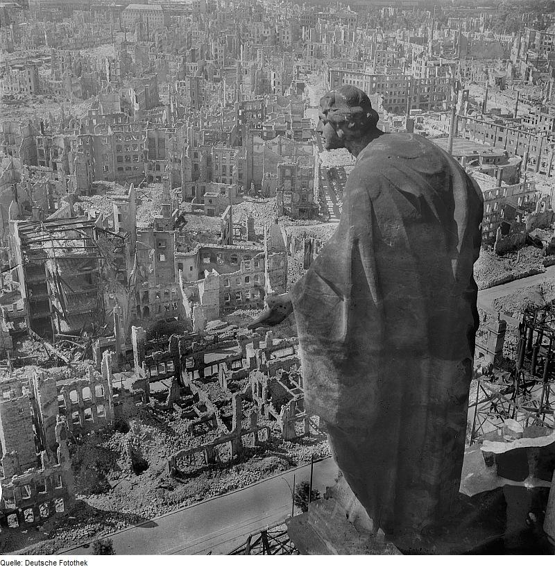 Fotos bélicas históricas, imagenes impactantes y para pensar. Dresden