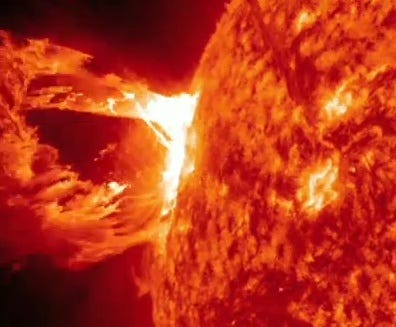 WOW Diameter 800,000 km of Giant Fireball Erupts from Sun, Oct 5, 2018 17510883_BG1