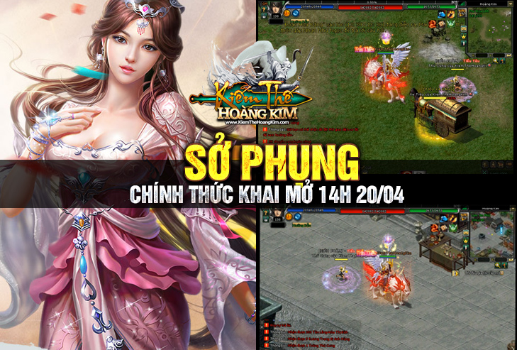 [KiemTheHoangKim.net] -Open Server PHI PHỤNG: Lúc 14h00 Ngày 29/06 Cày Cuốc Sml Hoangkim