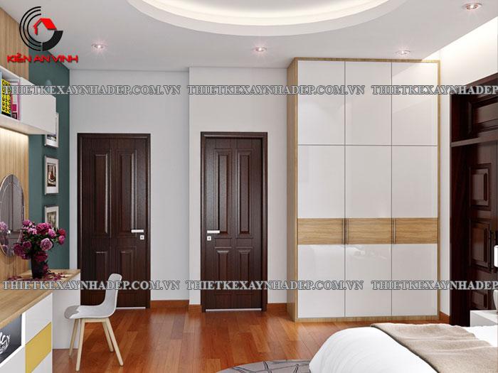 Mẫu thiết kế biệt thự 2 tầng Vincom Village đẹp diện tích 150m2 Phong-ngu-3