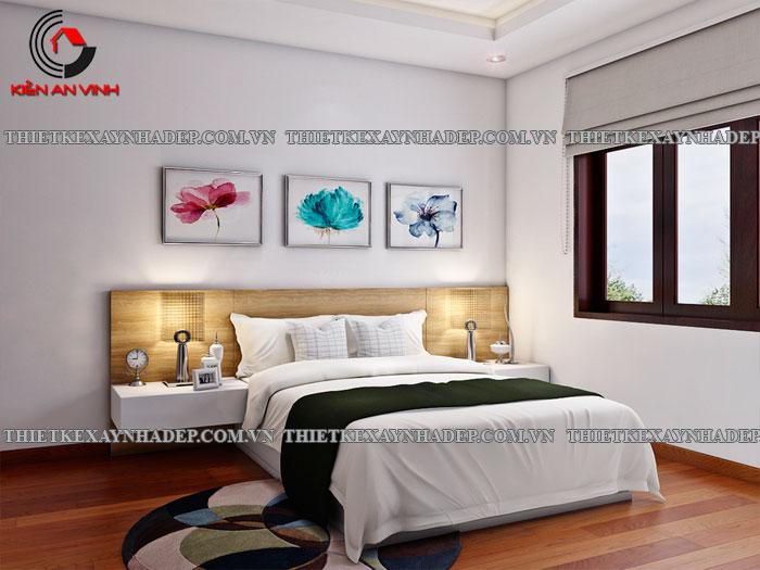 Mẫu thiết kế biệt thự 2 tầng Vincom Village đẹp diện tích 150m2 Phong-ngu-4