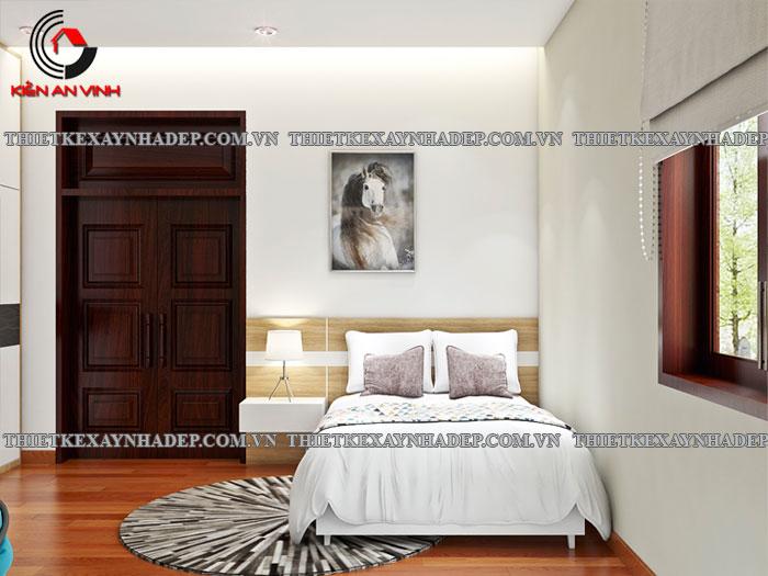 Mẫu thiết kế biệt thự 2 tầng Vincom Village đẹp diện tích 150m2 Phong-ngu-7