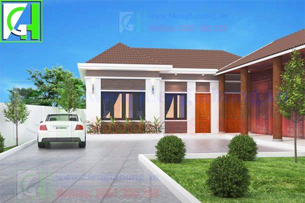 Một số mẫu thiết kế nhà phố đẹp giá rẻ nhất hiện nay 3-4-1-600x400