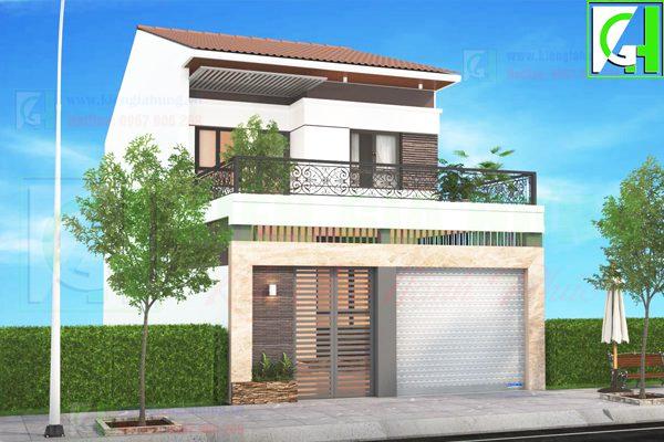 Một số mẫu thiết kế nhà phố đẹp giá rẻ nhất hiện nay A2-2-1-600x400