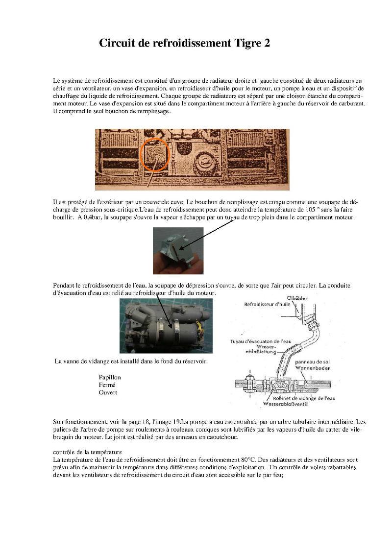 182 King Tiger 2 in 1 - TRUMPETER 00910 - 1/16ème - Page 5 Circuit-de-refroidissement-eau
