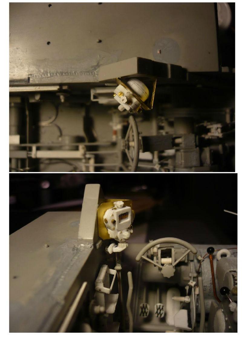 182 King Tiger 2 in 1 - TRUMPETER 00910 - 1/16ème - Page 4 Gyrocompas-boulette4