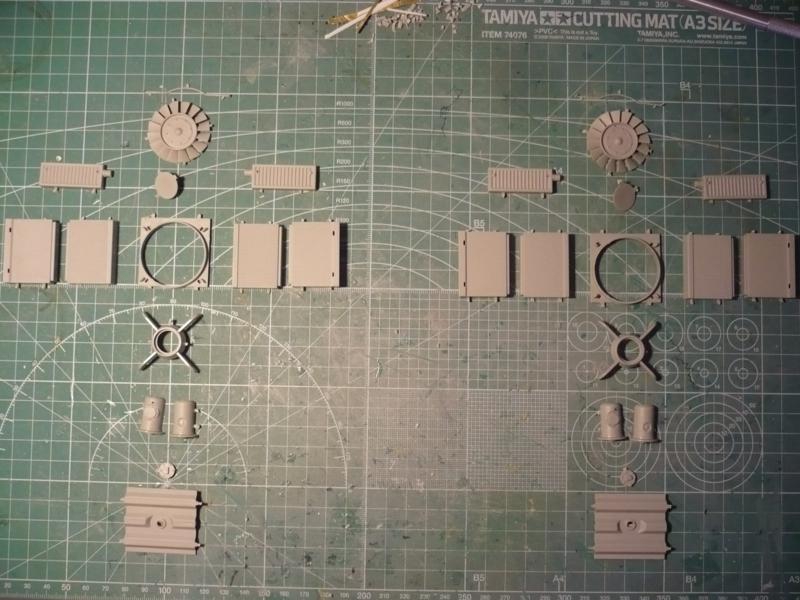 182 King Tiger 2 in 1 - TRUMPETER 00910 - 1/16ème - Page 4 Ventilateur
