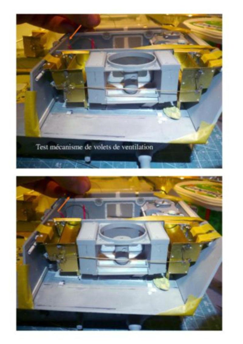 182 King Tiger 2 in 1 - TRUMPETER 00910 - 1/16ème - Page 4 Volets-de-ventilation-test-mecanisme