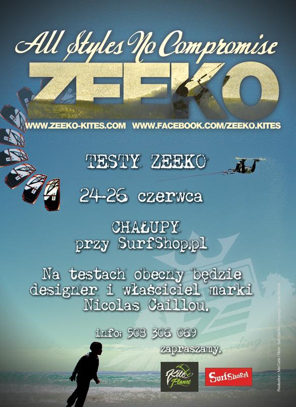 Zeeko test in Poland Plakat_testyxs