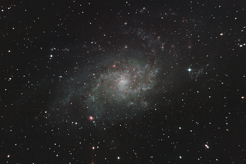 M33 La Galaxie du Triangle M33Mini09Sept2012