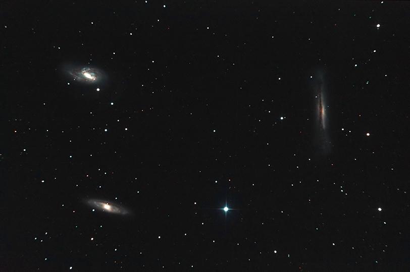 Moisson de Galaxies en milieu hostile TrioDuLionV2540p