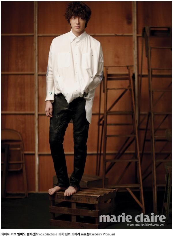 "Jung Il Woo posa para ""Singles"" y ""Marie Claire"" 182efcf47c8668268d82a31527fd494b_large"