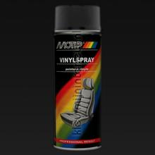 Αλλαγή χρώματος μοκέτας Motip-vinylspray-zwart-mi