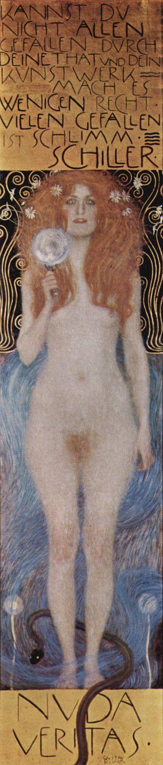 """Nuda Veritas"" Gustav_Klimt_044"