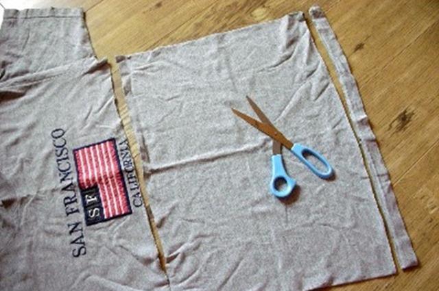 Как сделать пряжу из трикотажной футболки Tayra20100630_072718