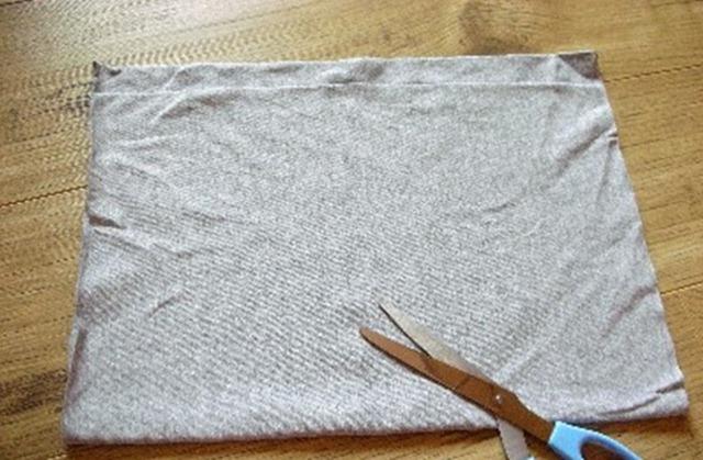 Как сделать пряжу из трикотажной футболки Tayra20100630_072729