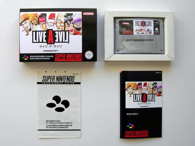 La collect de koga Live-a-Live_Boite_1