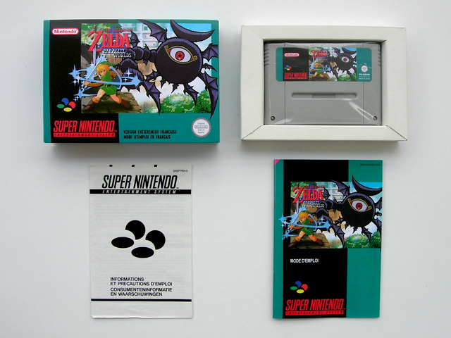 La collect de koga Zelda_Parallele_Worlds_Boite_1